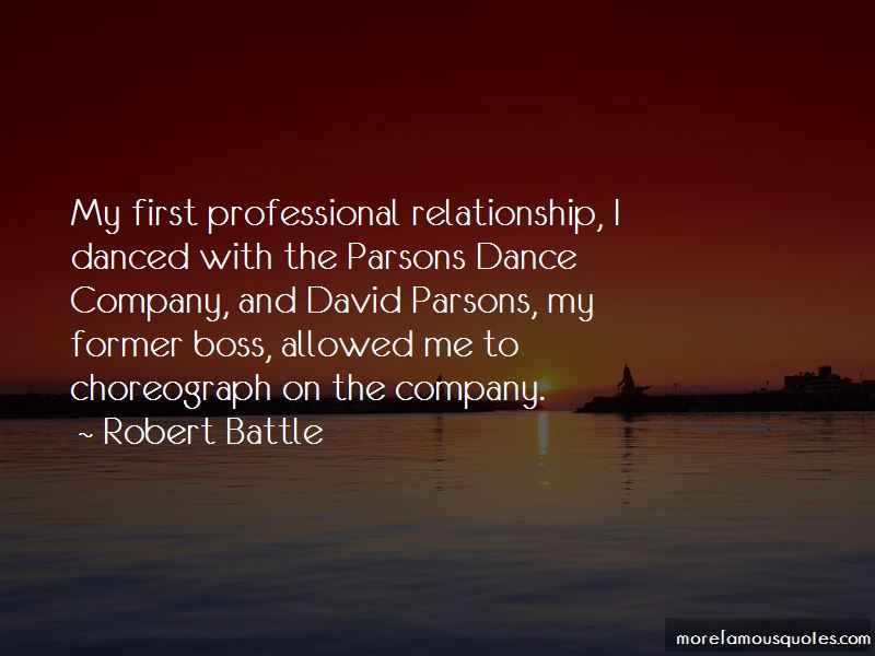 Quotes About Former Boss