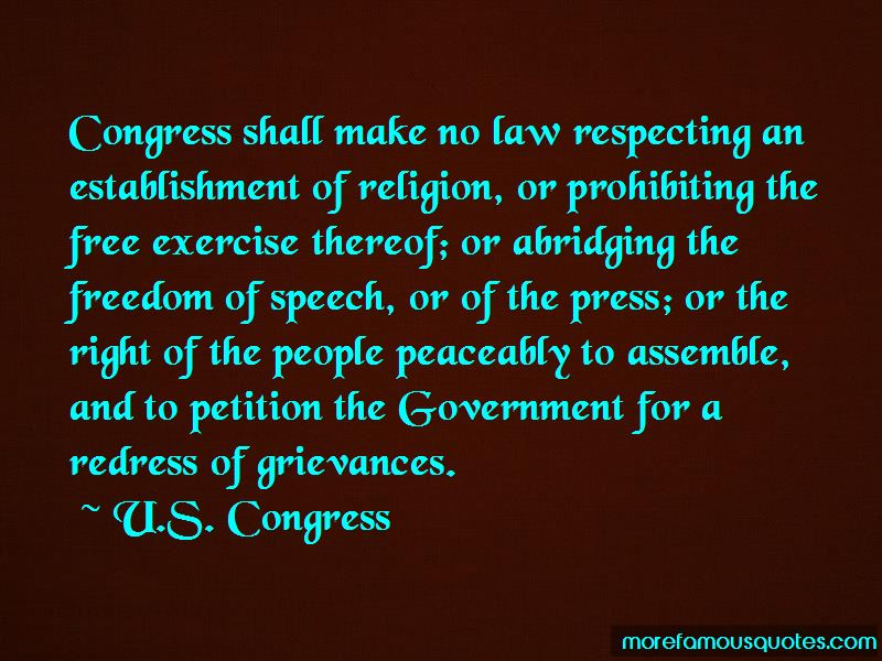Quotes About Freedom Of Petition