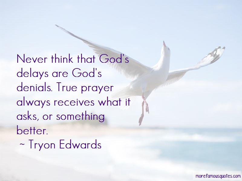 Quotes About God's Delays