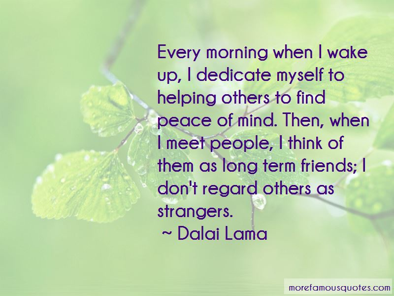 Helping Strangers Quotes Pictures 2
