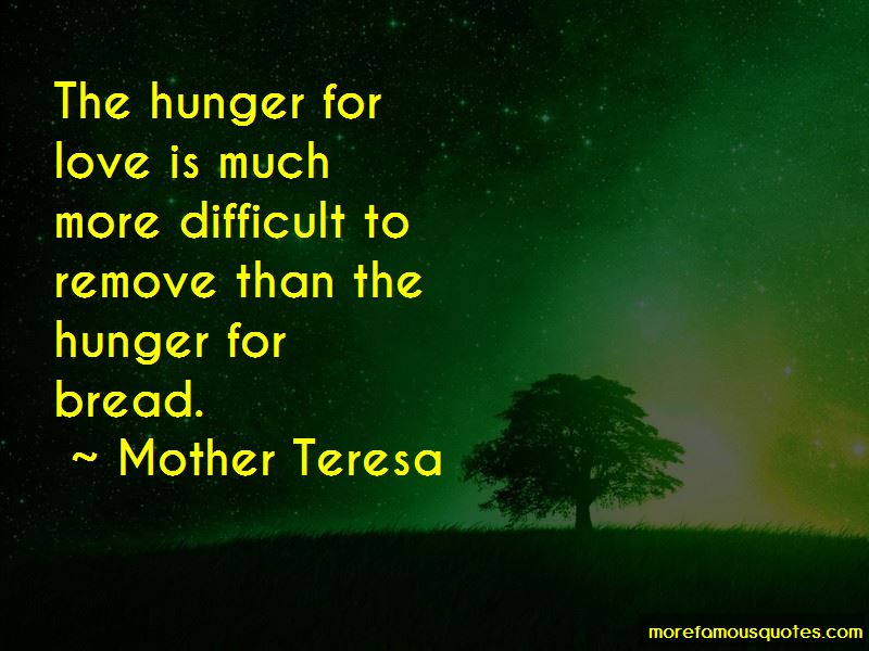 Hunger For Love Quotes Pictures 3