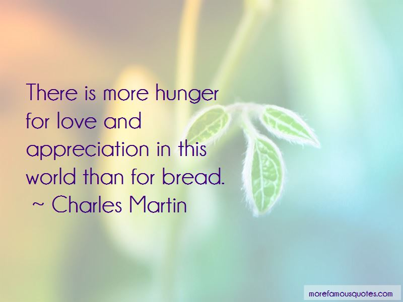 Hunger For Love Quotes Pictures 4