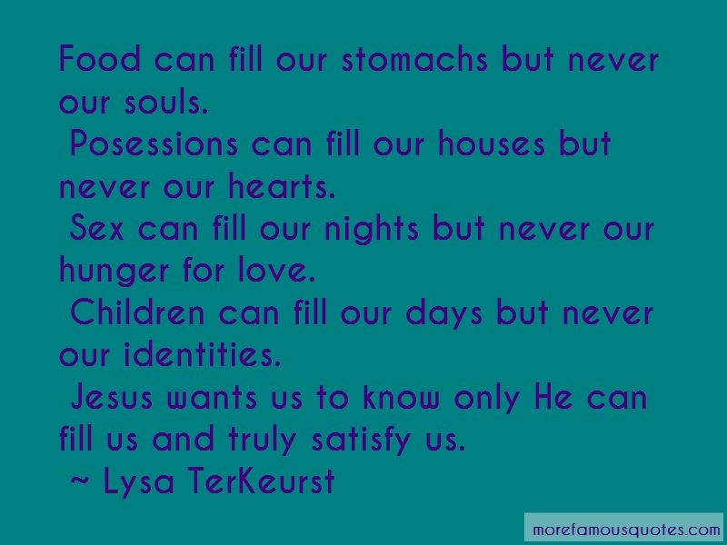 Quotes About Hunger For Love