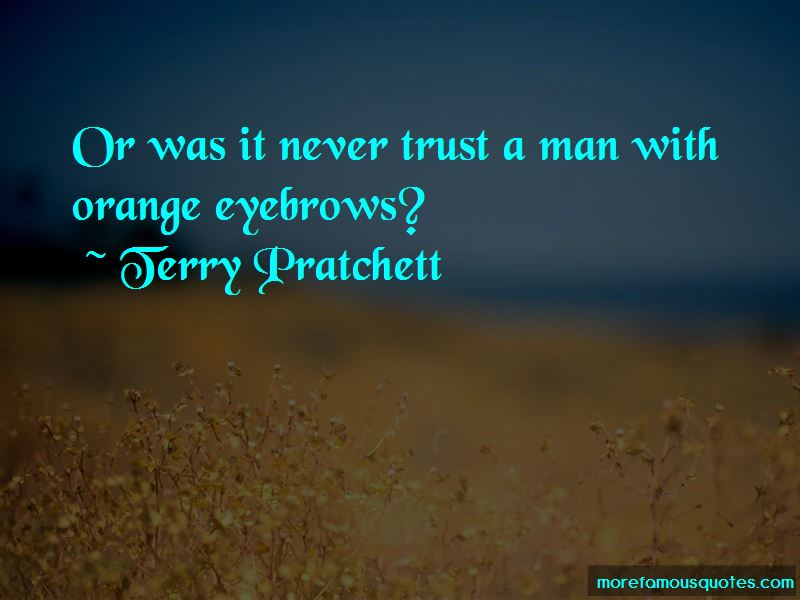 Quotes About No Trust In Man