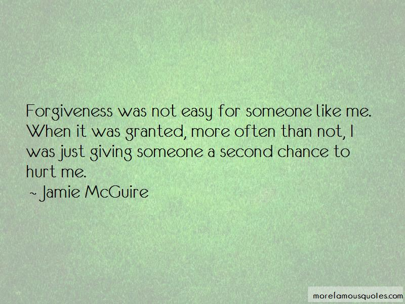 Quotes About Not Giving A Second Chance