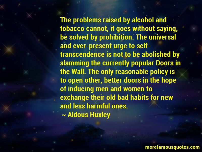 Quotes About Old Bad Habits