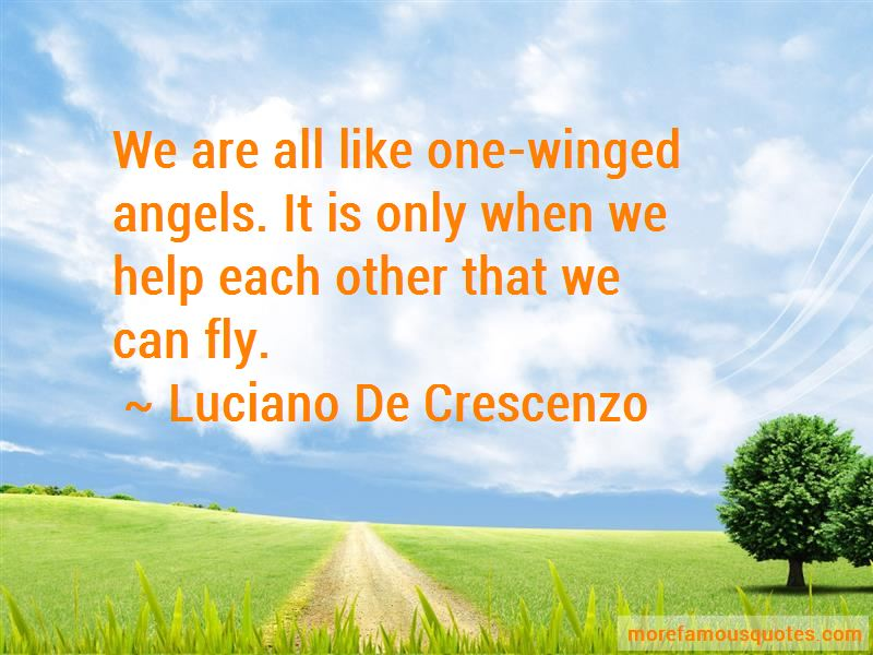Quotes About One Winged Angels