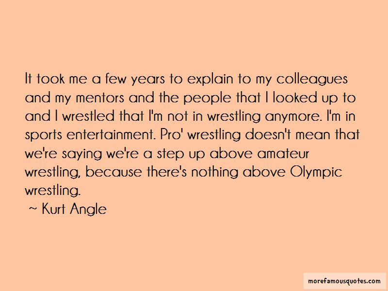Quotes About Pro Wrestling