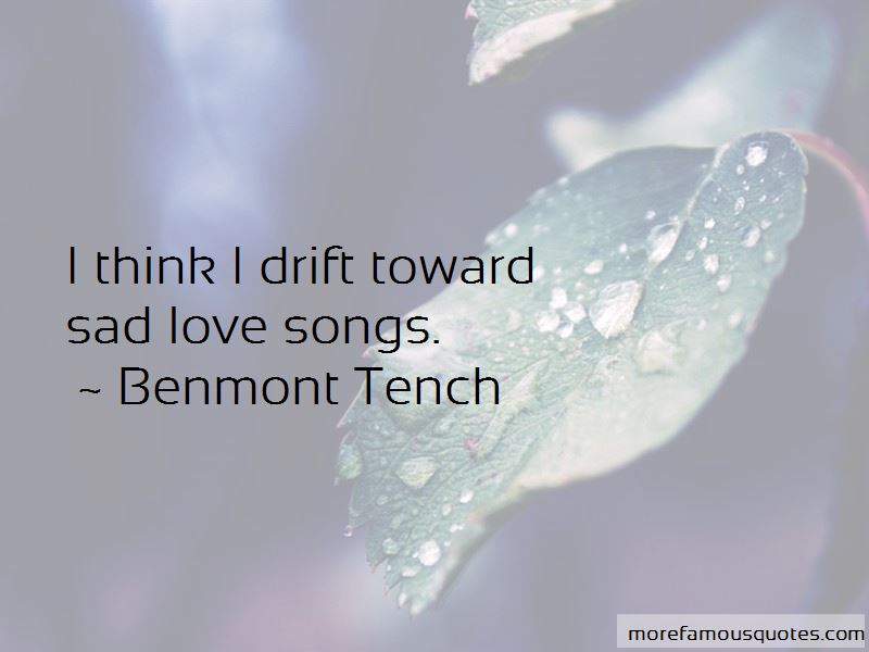 Quotes About Sad Love Songs