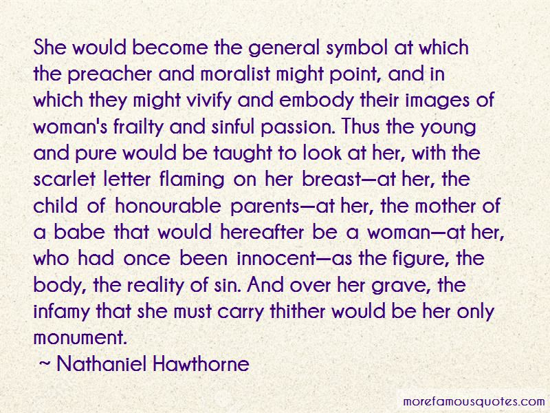 pearl born of sin and lust in nathaniel hawthornes the scarlet letter