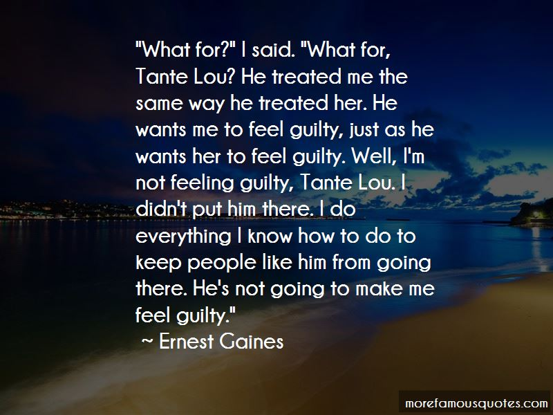 Quotes About Tante Lou