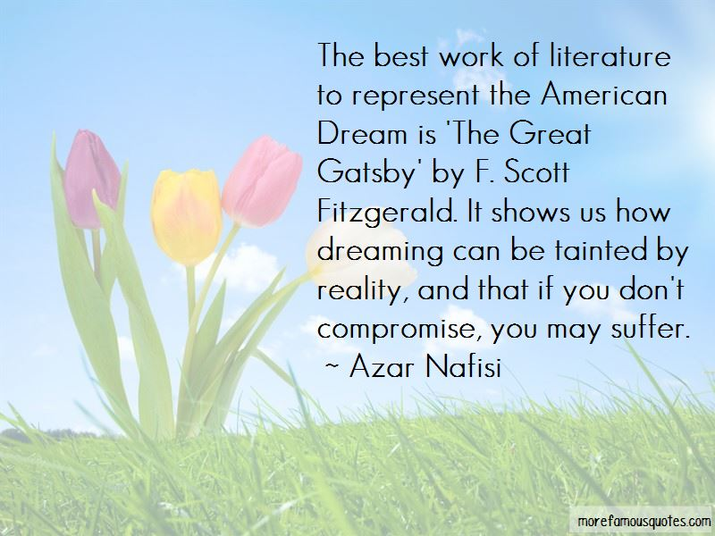 a contempt of the american dream in the great gatsby by f scott fitzgerald