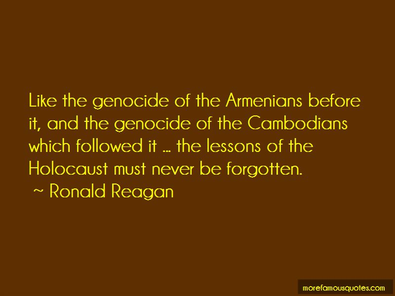 Quotes About The Holocaust Genocide