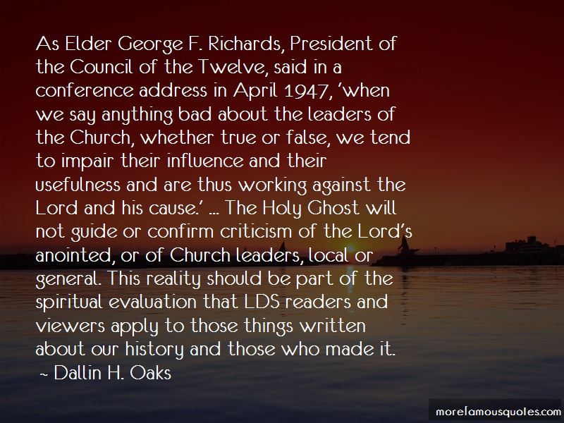 Quotes About The Holy Ghost Lds