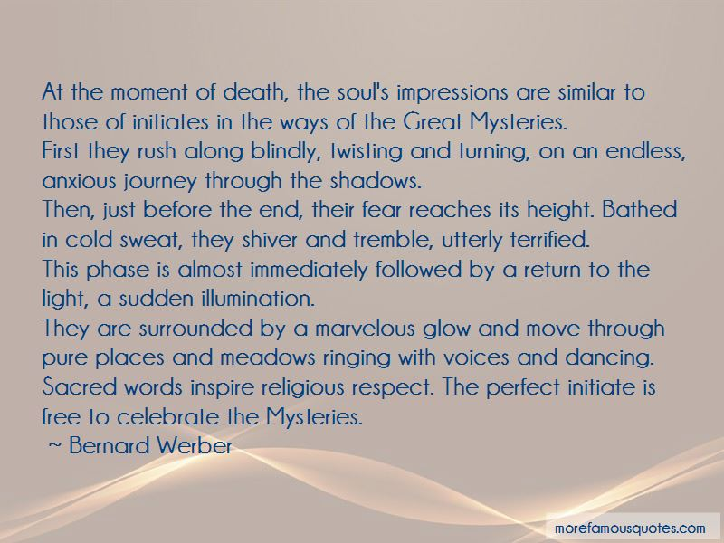 Quotes About The Moment Of Death