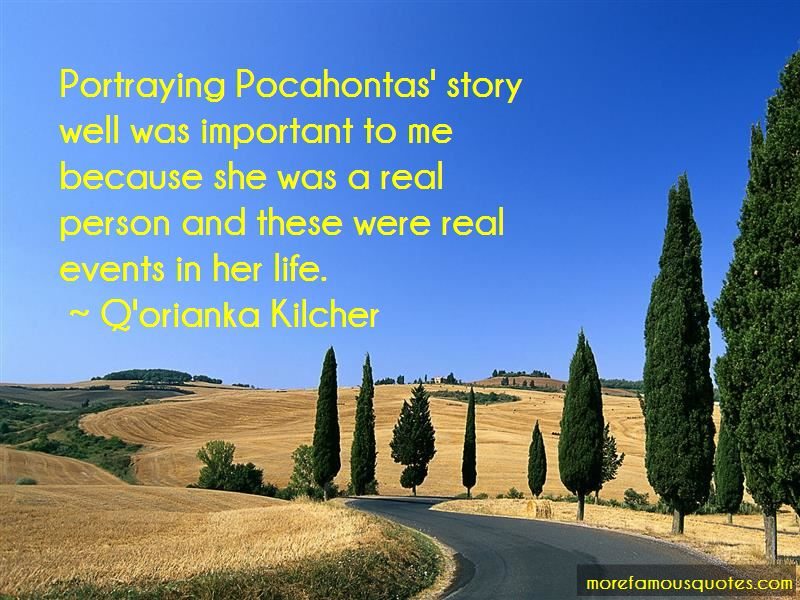 Quotes About The Real Pocahontas