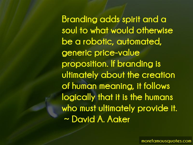The Value Of Branding Quotes Pictures 4