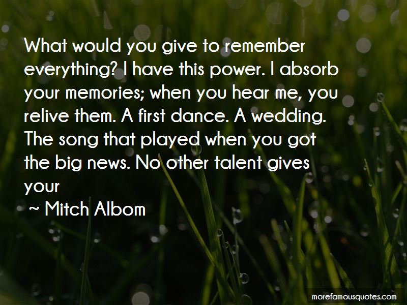 Quotes About The Wedding Dance