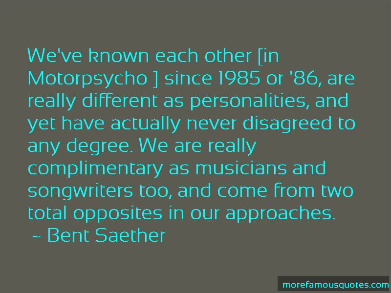 Quotes About Total Opposites