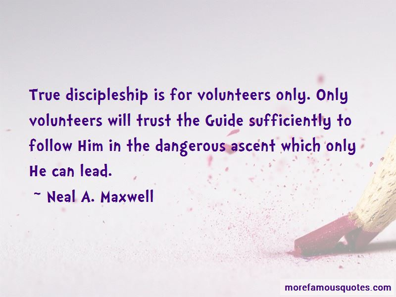 Quotes About True Discipleship