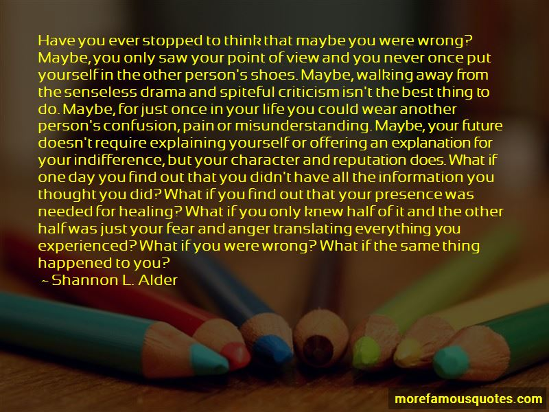 Quotes About Walking Away From Drama