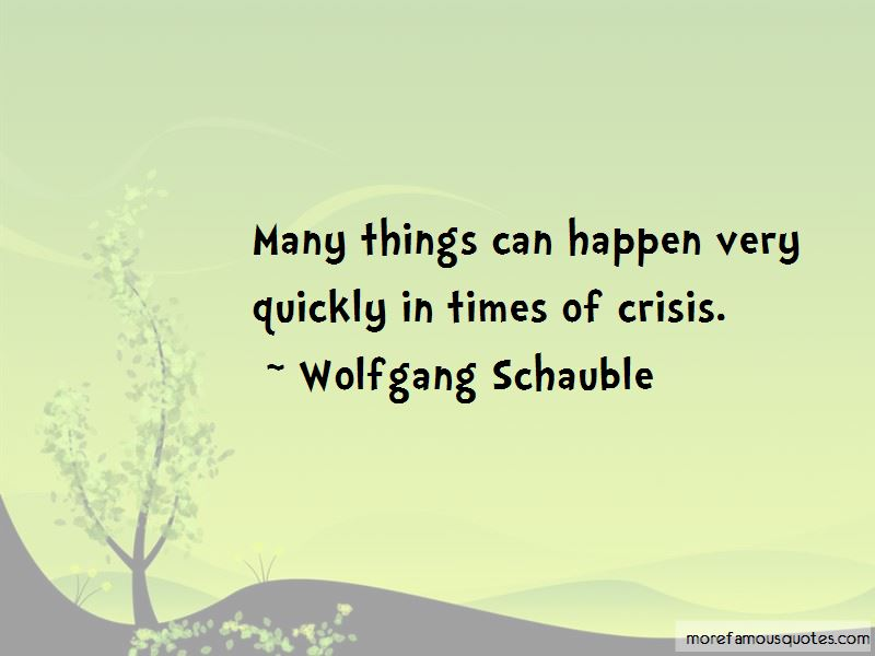 Things Can Happen Quotes