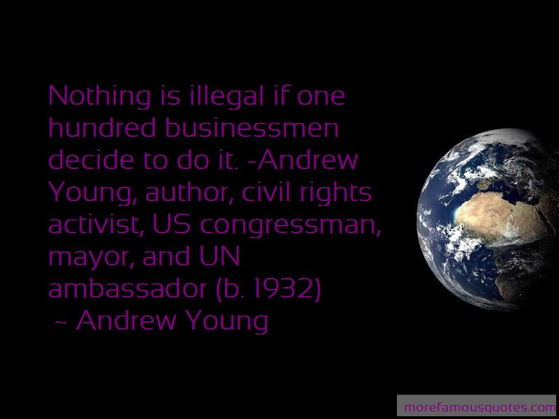 Ambassador Andrew Young Quotes