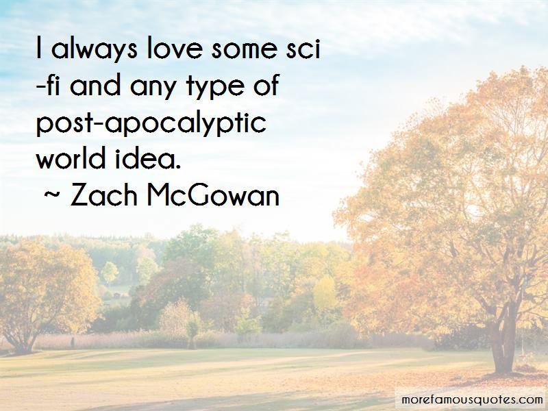 Apocalyptic Love Quotes