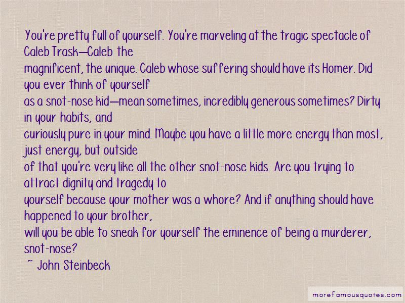 Caleb Trask Quotes