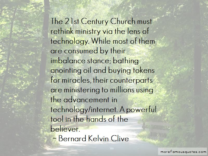 Church And Technology Quotes