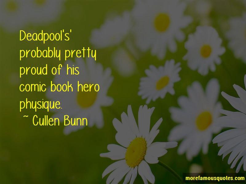 Comic Book Hero Quotes