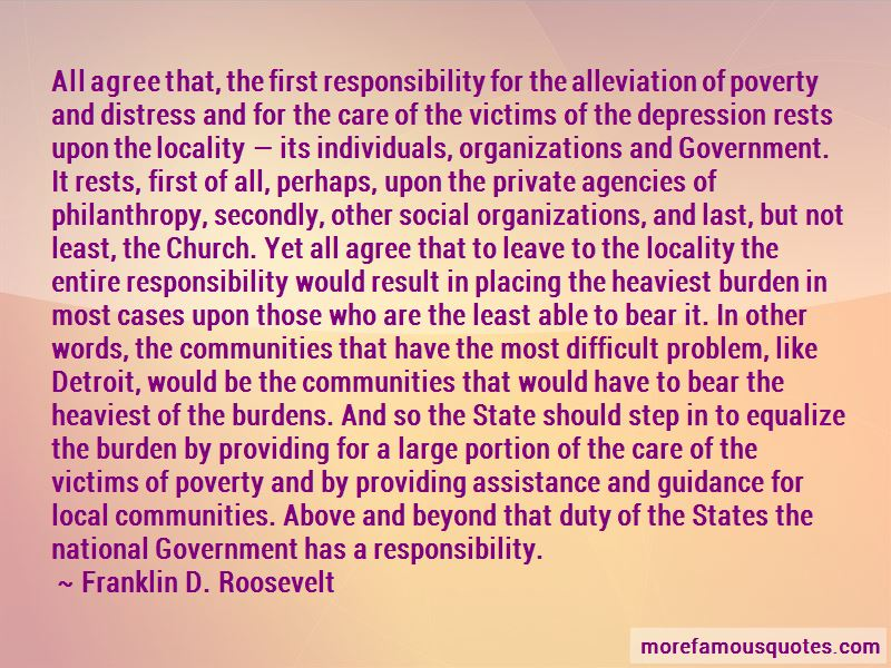 Government And Poverty Quotes