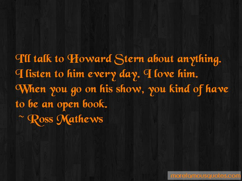 Howard Stern Show Quotes Pictures 3