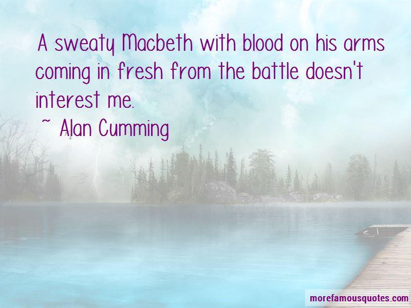 Macbeth Blood Quotes