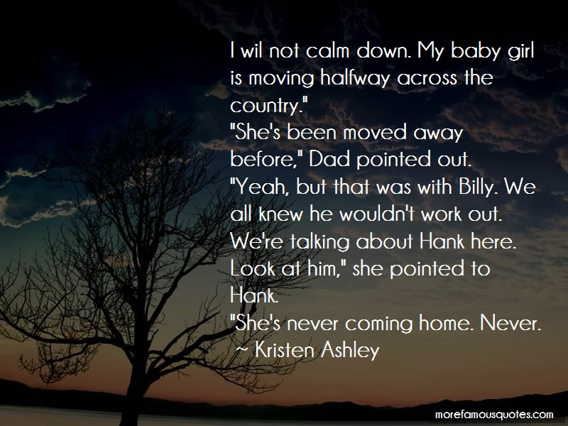 Never Coming Home Quotes