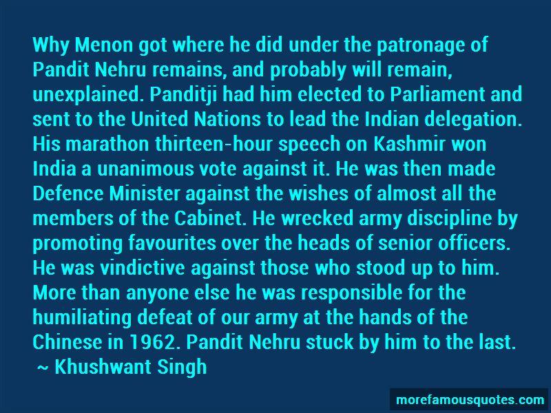 Pandit Nehru Quotes