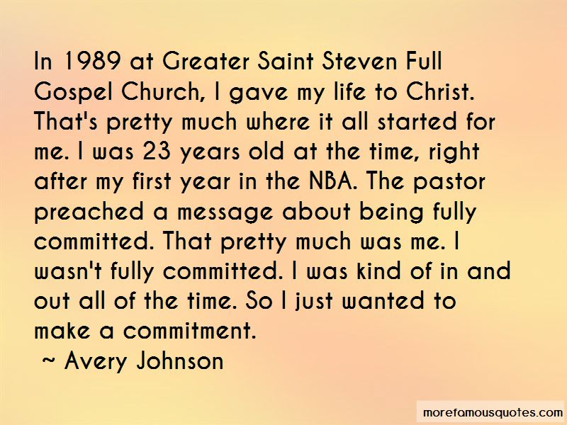 Pastor Steven Quotes