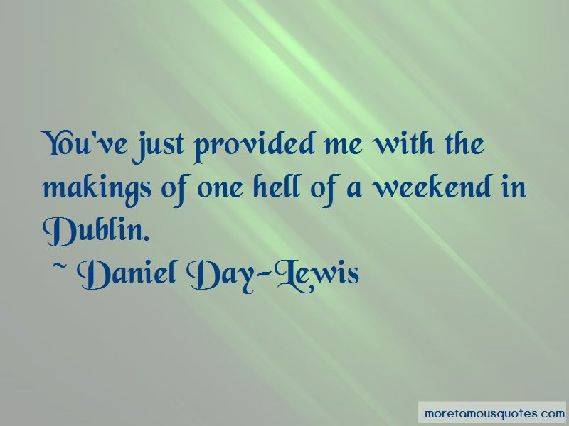 Quotes About A Weekend