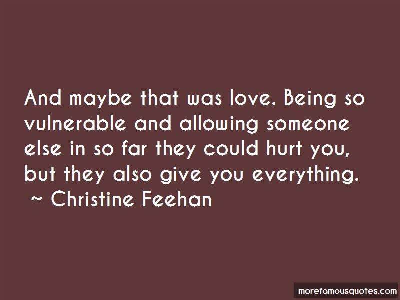 Allowing Someone To Love You Quotes Pictures 4
