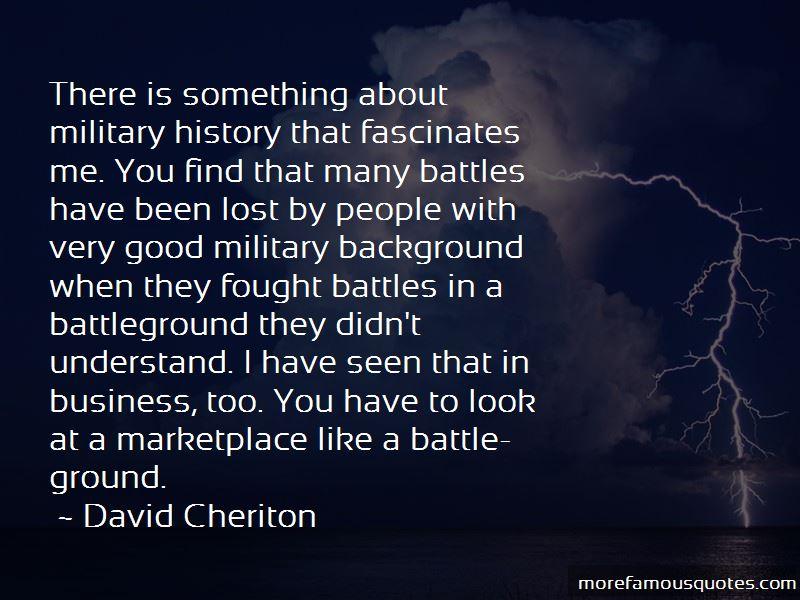 Quotes About Battleground