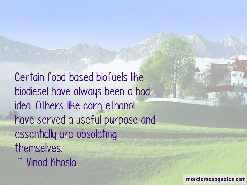 Quotes About Biodiesel