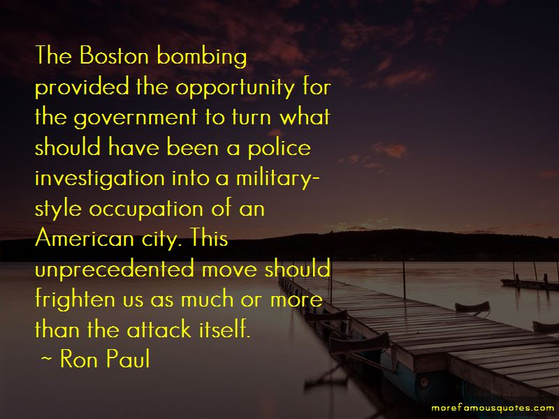 Quotes About Boston Bombing