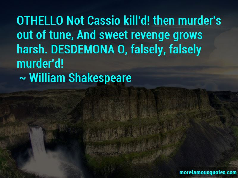 Quotes About Cassio And Desdemona