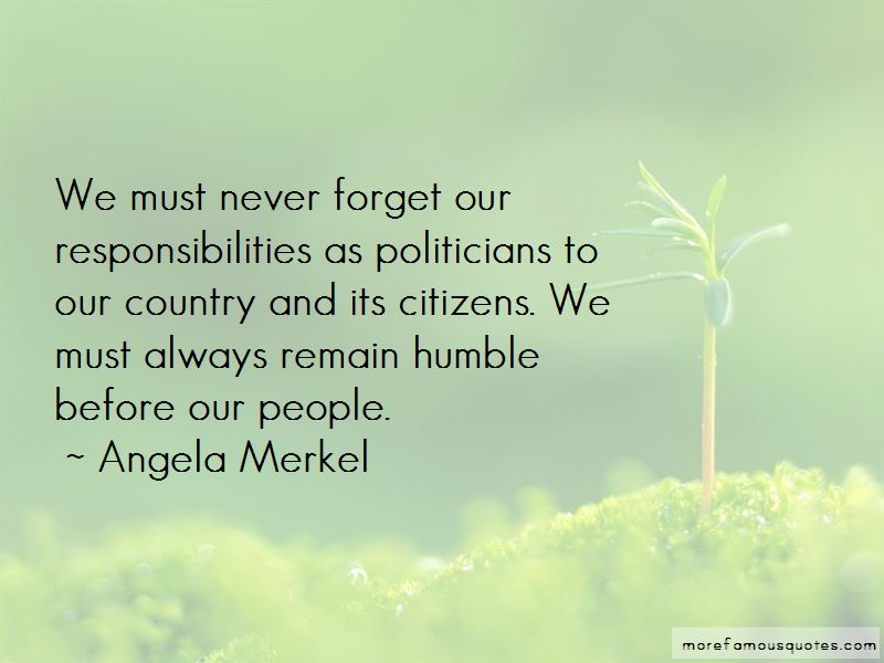 Quotes About Citizens Responsibilities