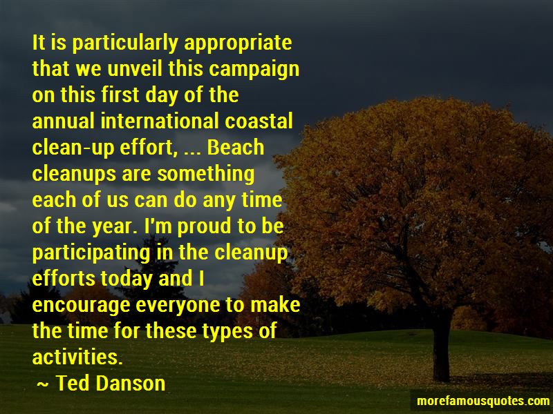Quotes About Coastal Cleanup