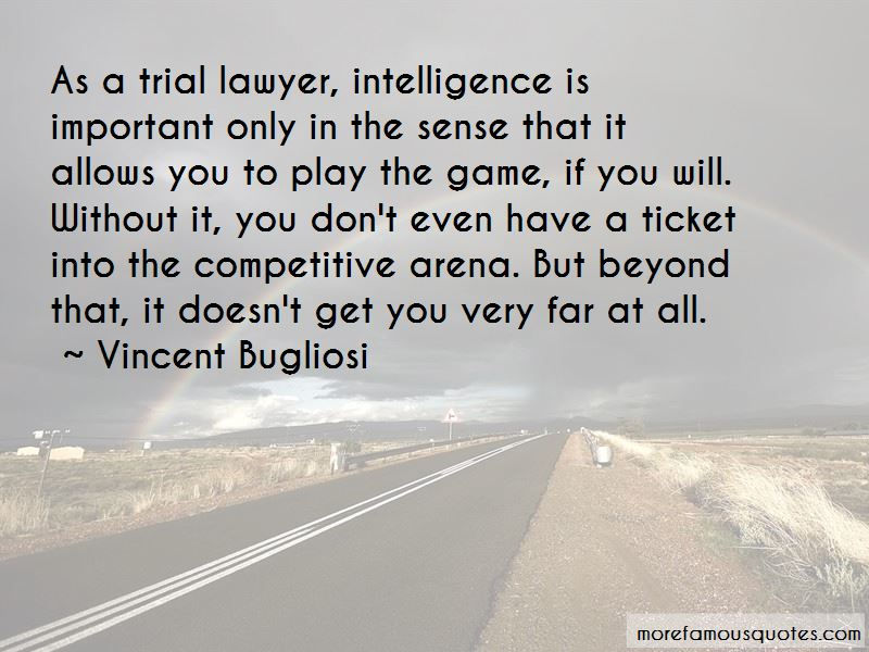Quotes About Competitive Intelligence