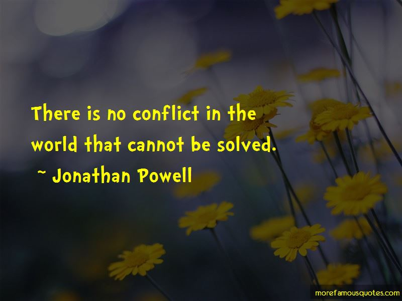 Quotes About Conflict In The World