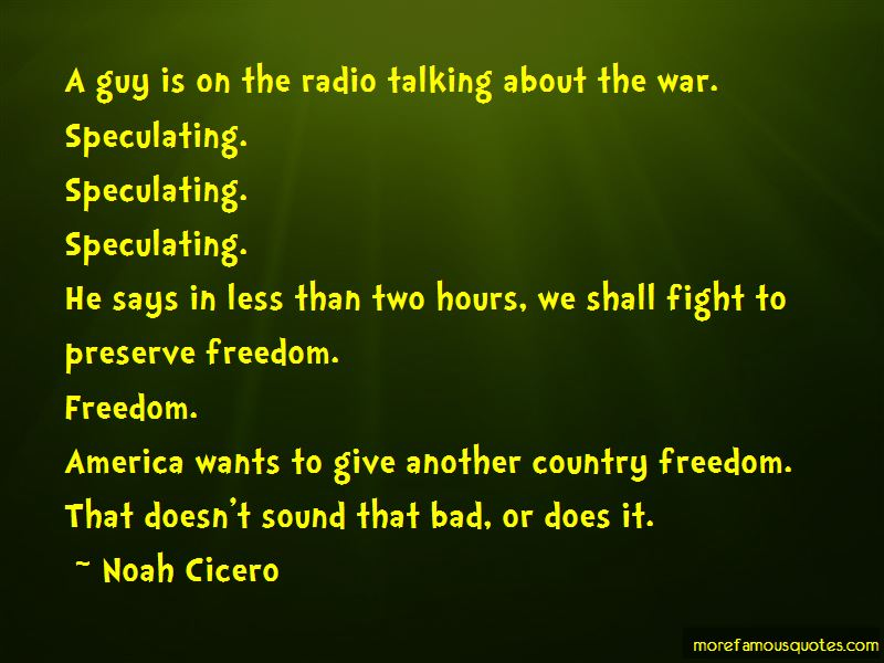 Quotes About Country Freedom