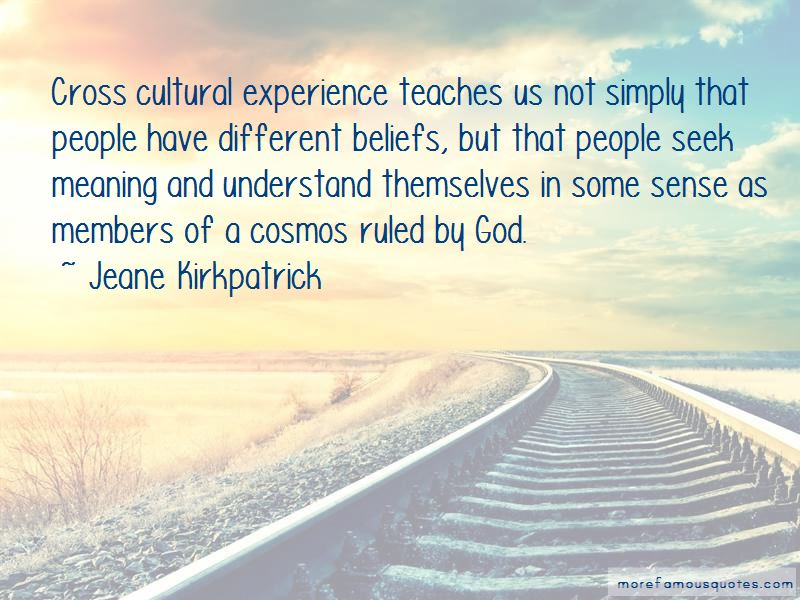 Quotes About Cross Cultural Experience