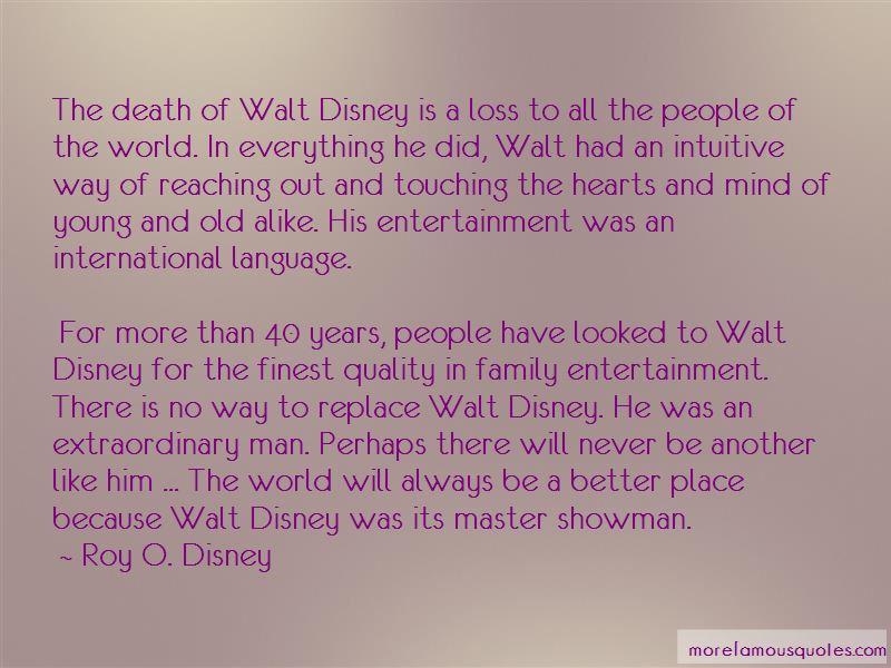 Quotes About Family Walt Disney: top 4 Family Walt Disney ...